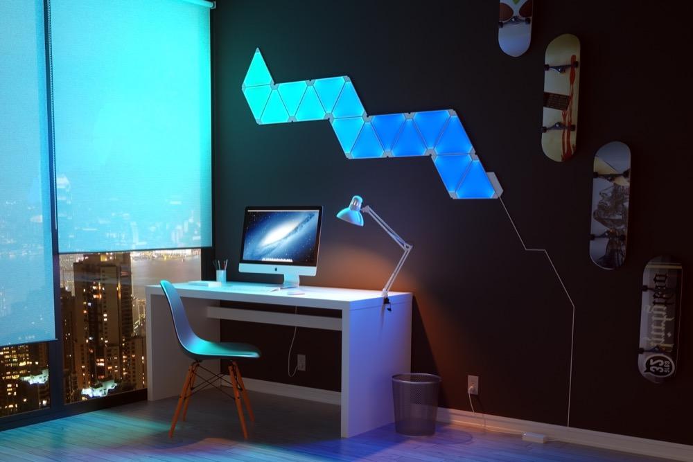 Nanoleaf aurora erweiterungs set f r die light panels heute nur 50 euro - Gaming zimmer einrichten ...