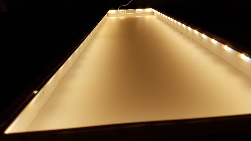 Hervorragend Zeig' dein Hue: Selbstgebaute LED-Panels mit dem LightStrip Plus WW33