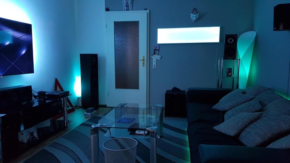 Top Zeig' dein Hue: Selbstgebaute LED-Panels mit dem LightStrip Plus NW19