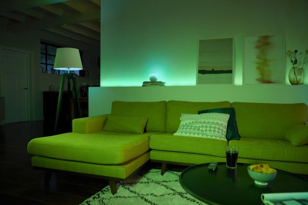 ergebnis der umfrage durchschnittlich ein dutzend hue lampen im einsatz. Black Bedroom Furniture Sets. Home Design Ideas