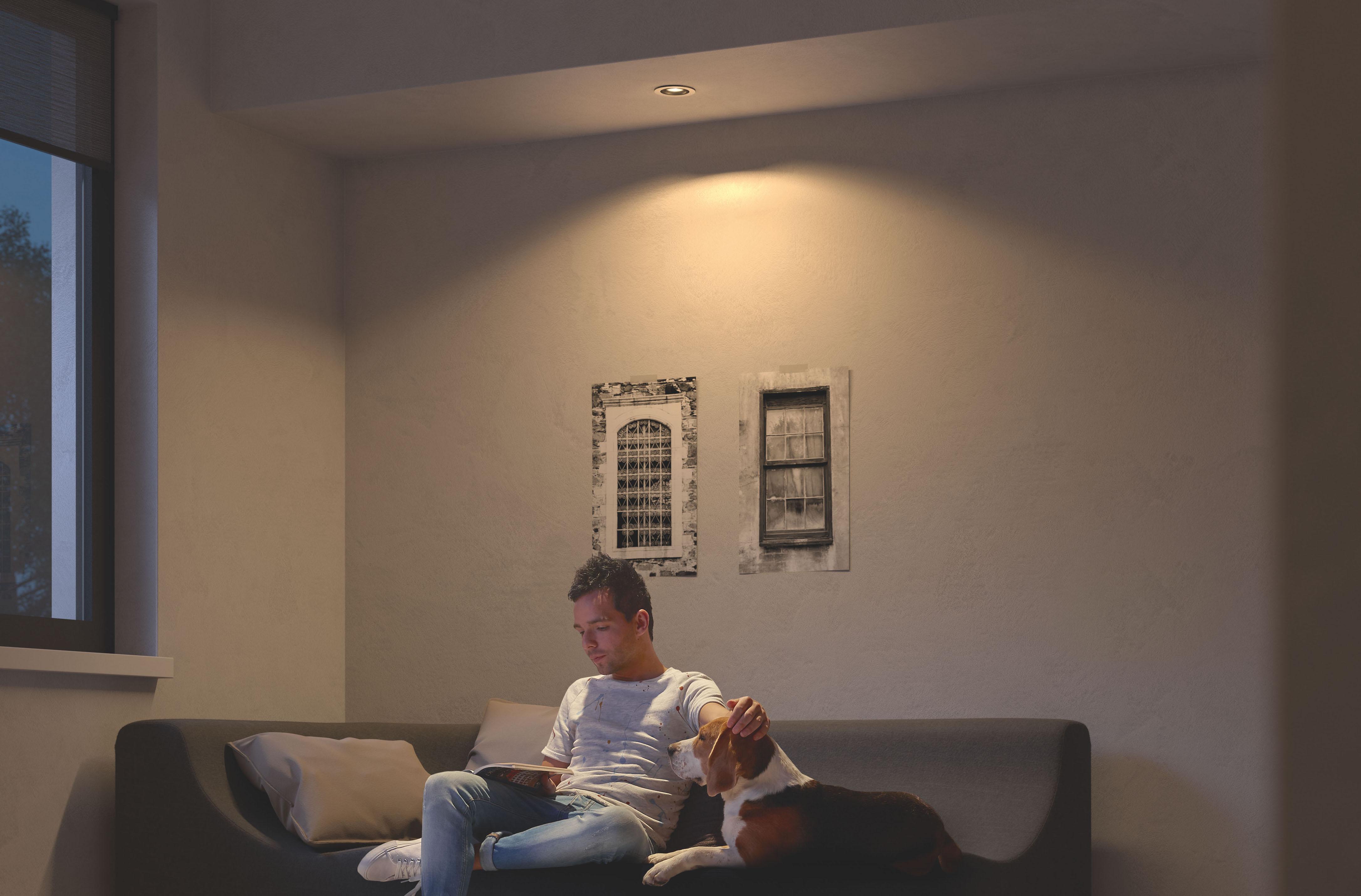 philips hue gu10 wie gro sollte der abstand zwischen den einzelnen spots sein. Black Bedroom Furniture Sets. Home Design Ideas
