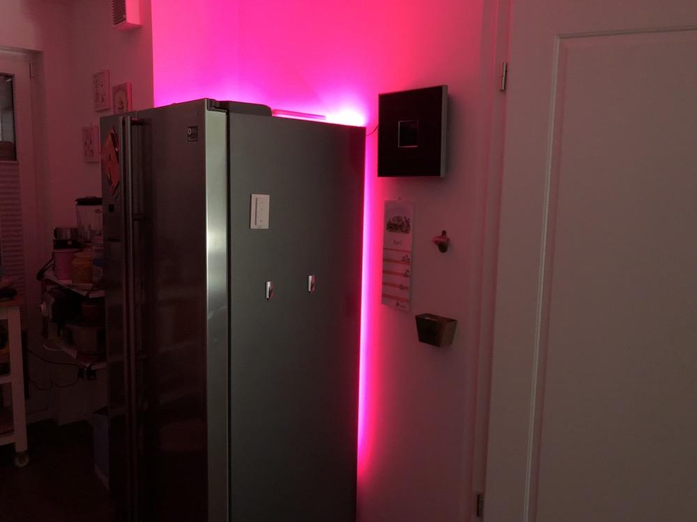 Zeig' dein Hue: Das ist meine neue Kühlschrankbeleuchtung