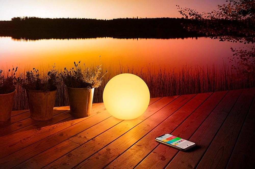 Hueblog: Konkurrenz für die Philips Hue Go: Die neue HomeKit-Lampe Elgato Eve Flare
