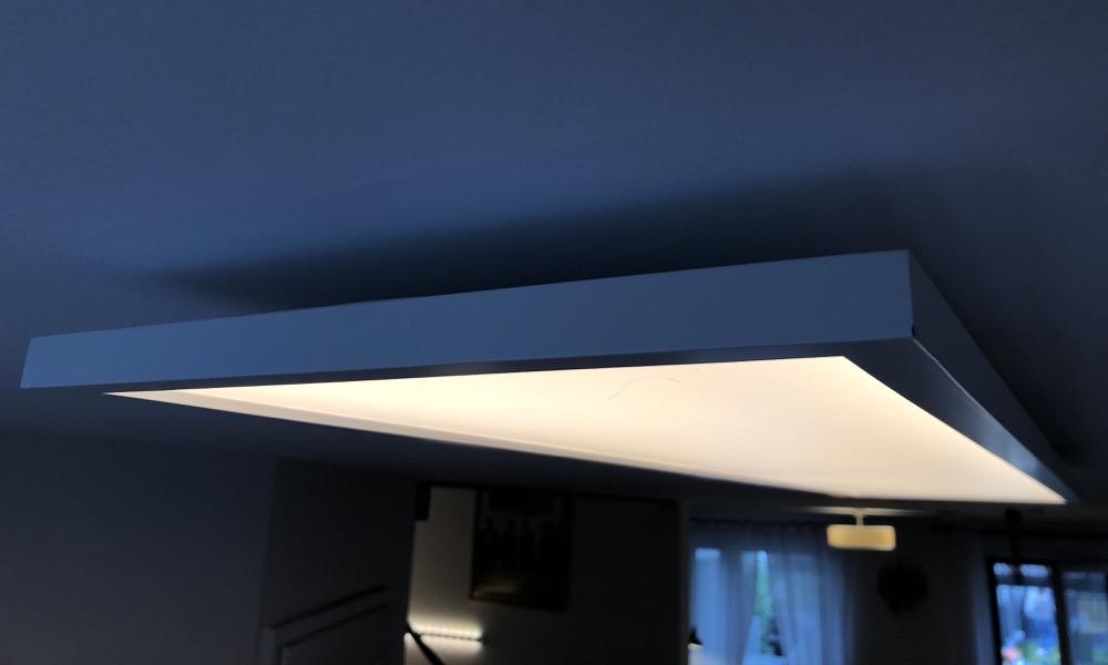 Hueblog: Ausgepackt und installiert: Das Philips Hue Aurelle LED-Panel