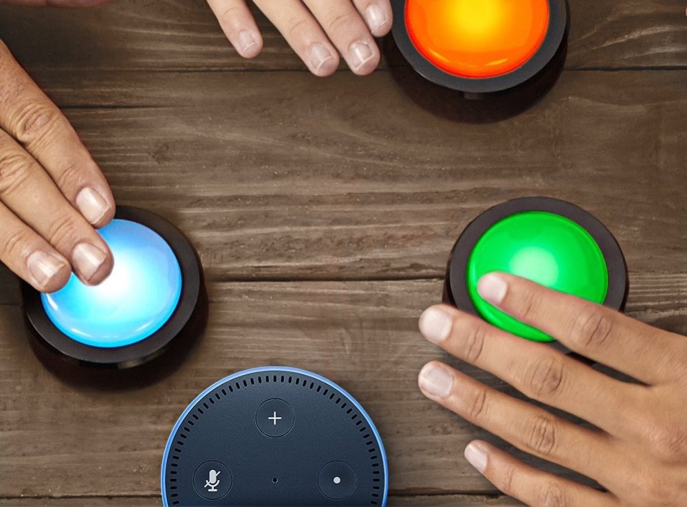 Hueblog: Mit Amazon Echo Buttons Smart Home-Routinen steuern