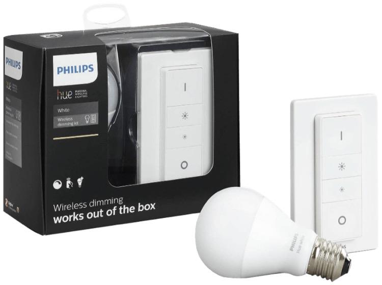 philips hue wireless dimming kit. Black Bedroom Furniture Sets. Home Design Ideas