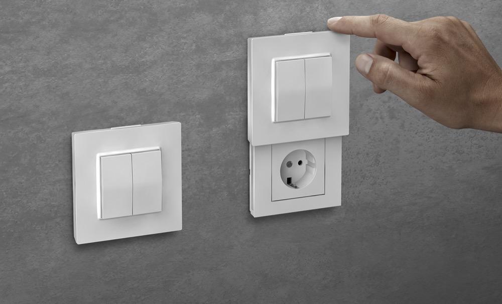 Hueblog: Die Versteckdose: Infos zur Verkabelung & mögliche Schalter-Abdeckung