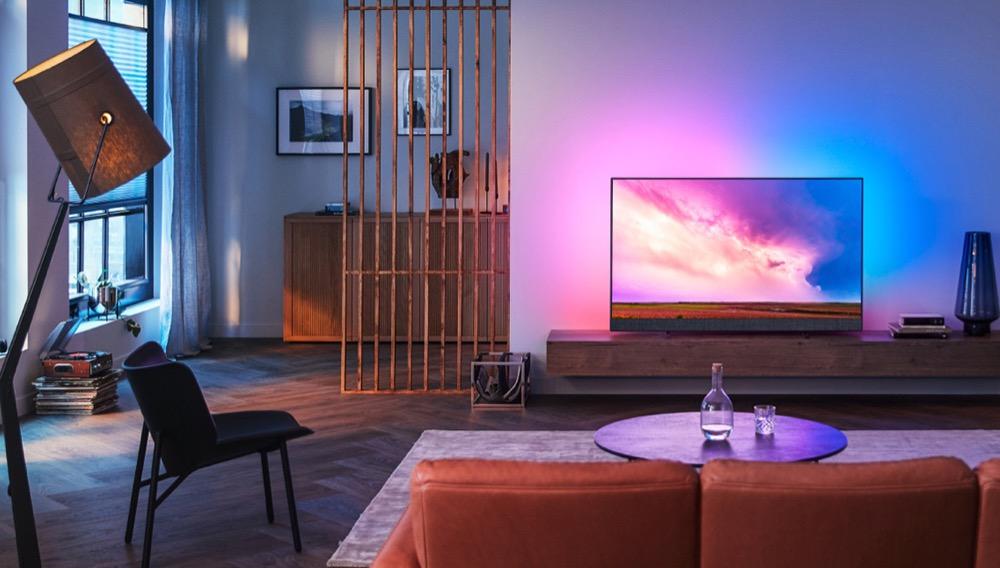 Hueblog: Popcorn-Woche: Ambilight-Fernseher mit OLED im Angebot