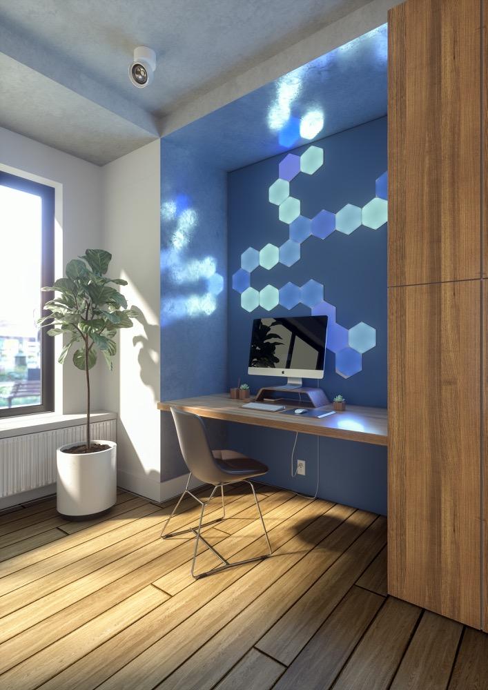 Hueblog: Nanoleaf Shapes Hexagon: Erste Lichtmodule gehen in den Versand