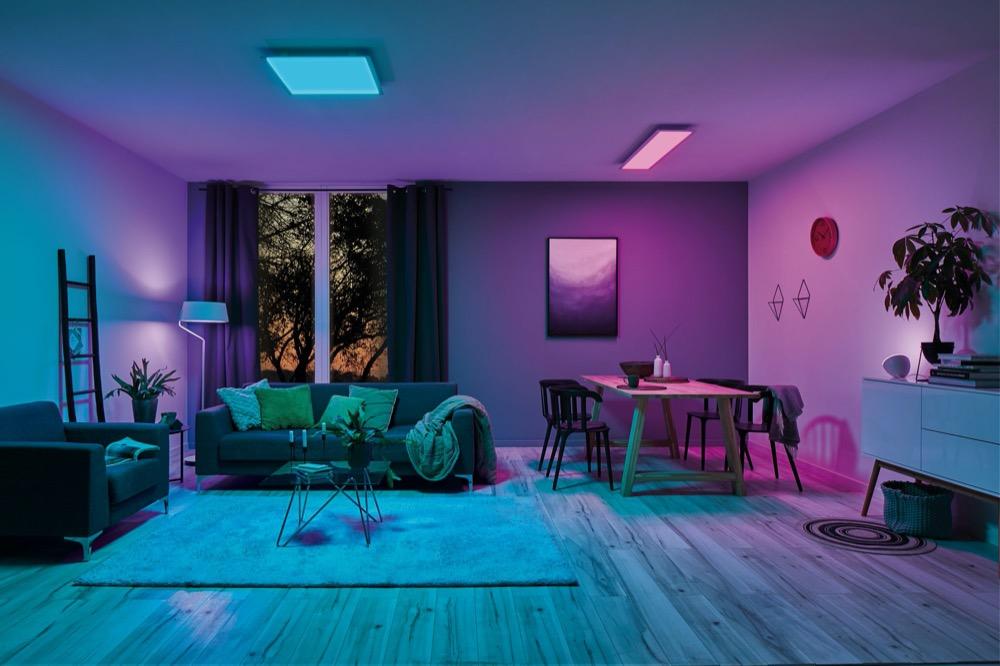 Hueblog: Paulmann Amaris: Neue LED-Panels bietet RGBW auch Farbe