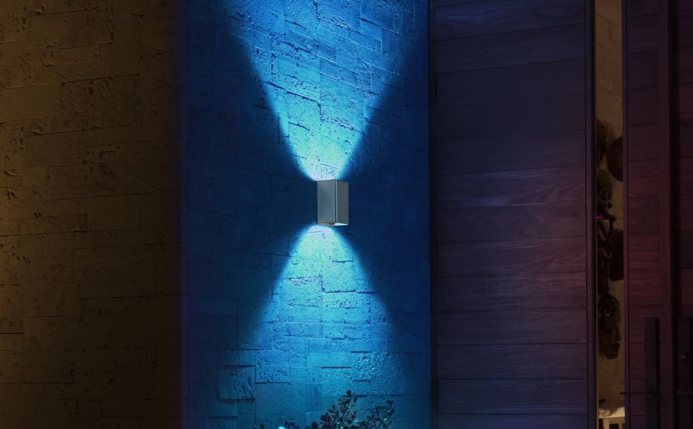 Hueblog: Philips Hue Resonate im Test: Up and Down an der Wand