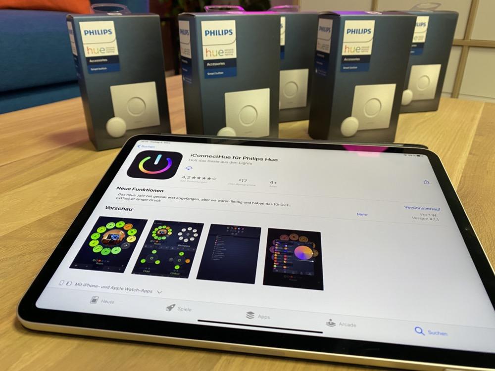 Hueblog: Letzte Chance: 5x Smart Button und Lizenz für iConnectHue gewinnen