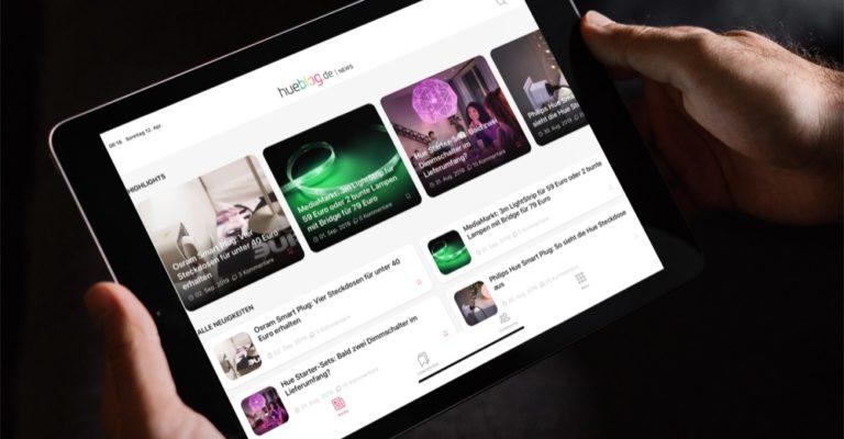Hueblog: Hue-Wochenrückblick: Beta-Test, Dolby Vision & Outdoor LightStrip