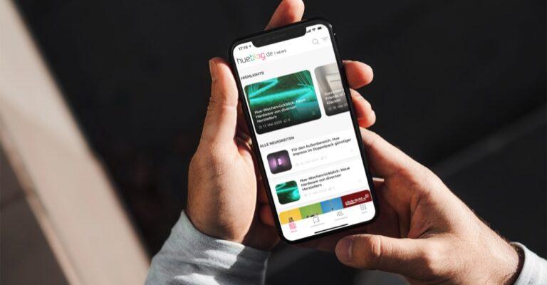Hueblog: Hueblog-App: Neue Beta-Version jetzt auch für Android verfügbar