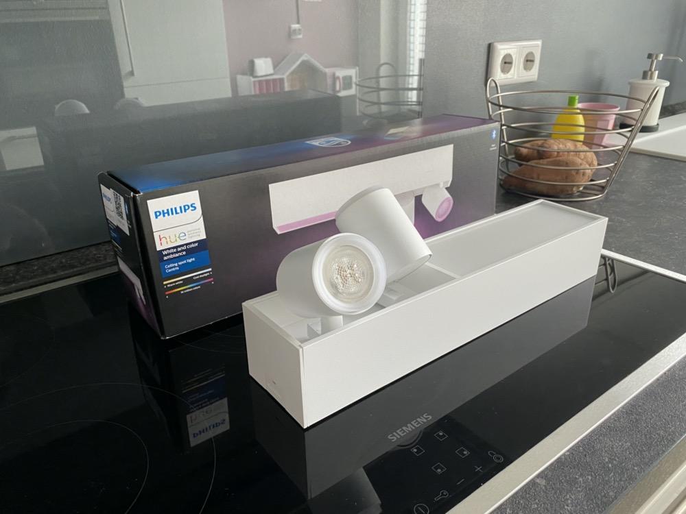 Hueblog: Schritt für Schritt: So wird die neue Philips Hue Centris montiert