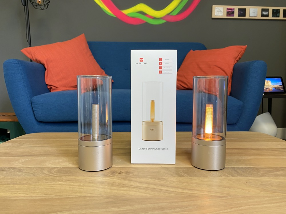Hueblog: Yeelight Candela: Smarte Kerze als Alternative zur Hue Go