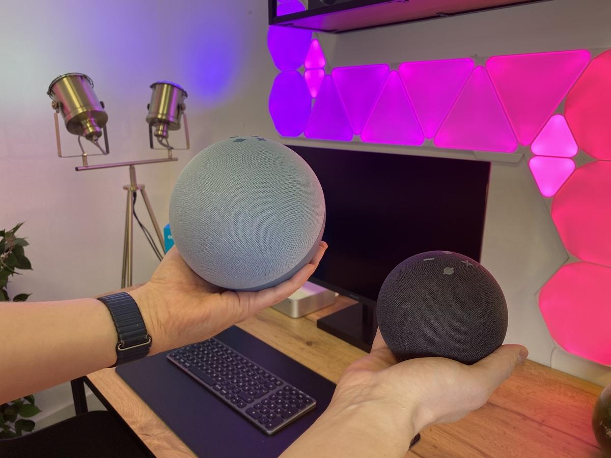Hueblog: Erster Eindruck der neuen Alexa-Geräte: Echo und Echo Dot
