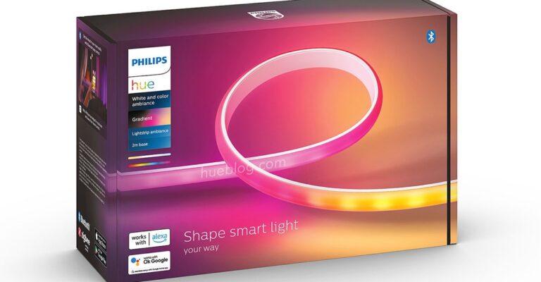 Hueblog: Das ist der Philips Hue Gradient Lightstrip Ambiance