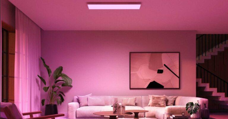 Hueblog: So einfach wird die neue Philips Hue Surimu an der Decke montiert