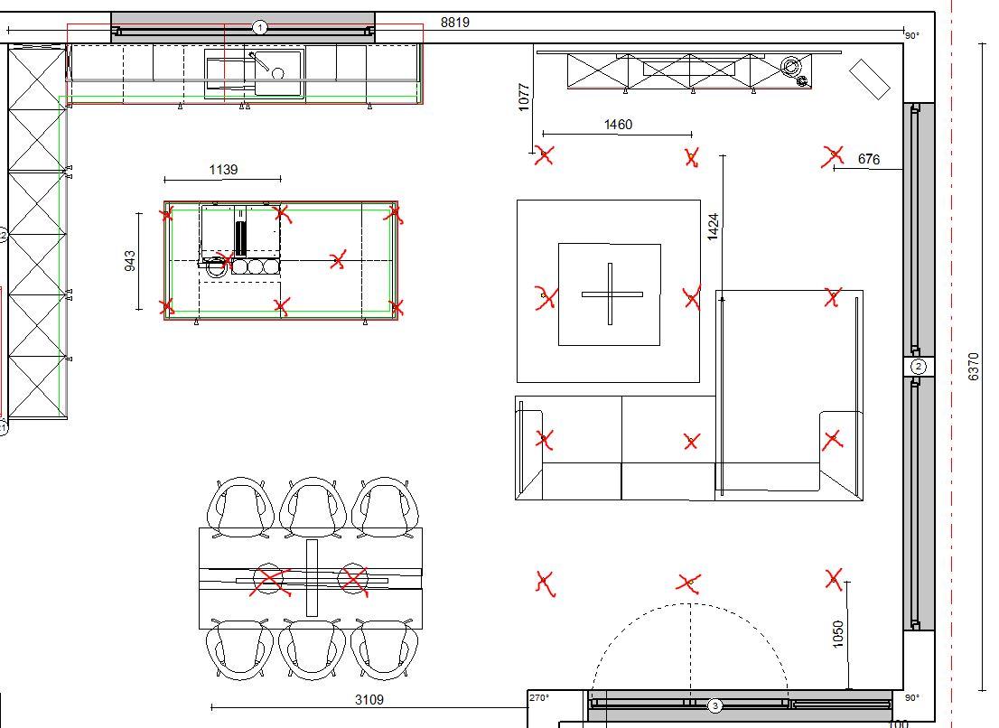 Lichtplanung mit GU15 Deckenspots - Hueblog.de